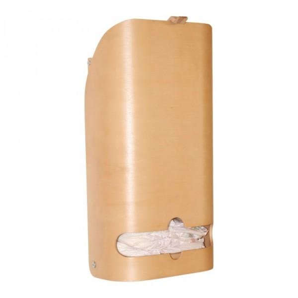 Design luier dispenser gemaakt van deels massief formhout 26011