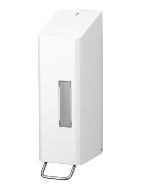 Ophardt SanTRAL classic NSU 11 Soap Dispenser 1200ml powder coated white Ophardt Hygiene 1415818,1415413,1415820