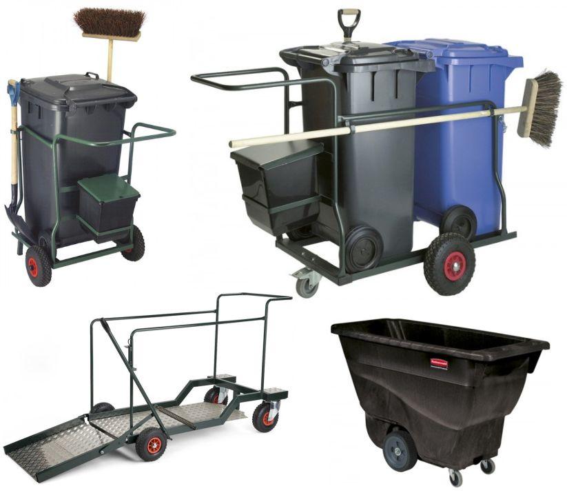 Afvalverzamelwagen-voor-buiten
