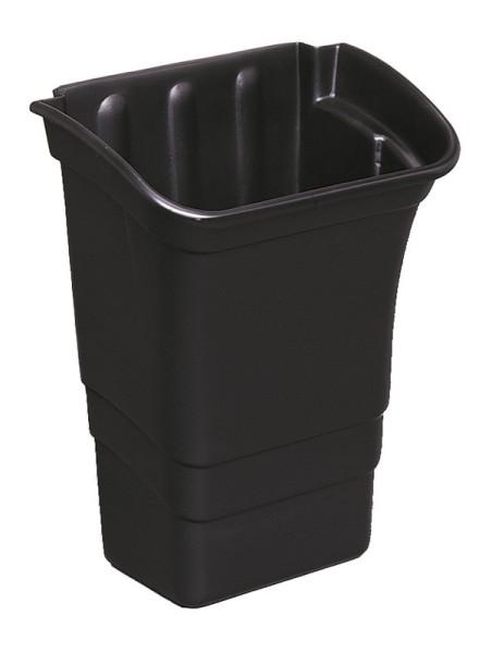 Rubbermaid afvalbak 30L om te bevestigen aan de werk/servicewagens Rubbermaid 76162844