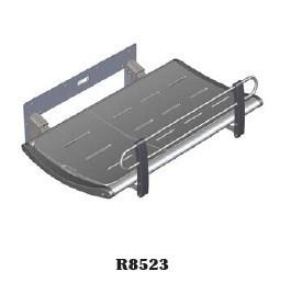 Pressalit douche / verzorgingsbank vaste muurbevestiging, in 2 maten: 1300mm of 1800mm Pressalit R8523, R8528