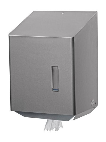 RVS Papieren handdoek dispenser met Center-Pull Ophardt Hygiene SanTRAL CEU 1 - 745600, 745700